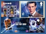 Doctor Who Royal Mail 50th Anniversary Stamp Products