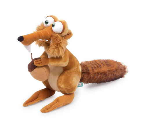 Soft Toy Ice Age Scrat Squirrel With Nut Kids film Gift for Grteece