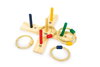 Wooden Toy Small Outdoor Game Hoopla Quoits Throwing Garden Game Kirkintilloch Glasgow