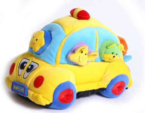 Soft Toy VW Beetle Baby Toy Educational Shapesorter With 6 Animal Geometric Shaped Glasgow