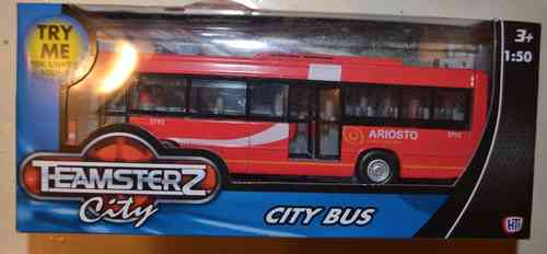 Teamsterz Diecast & Plastic Single Decker British Bus Toy Vehicle Model Scale 1/50