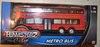 Teamsterz Diecast & Plastic Double Decker British Bus Toy Vehicle Model Scale 1/50