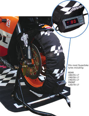 MOTO GP DIGITAL TYRE WARMERS