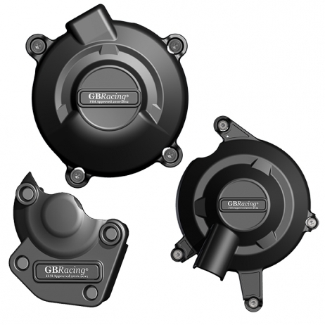 TRIUMPH 675 GB RACING ENGINE COVER SET