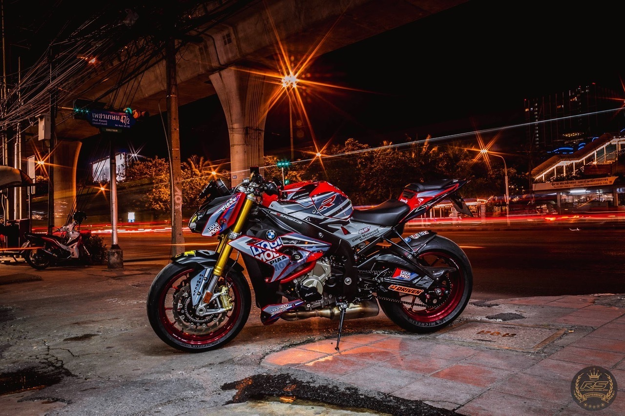 BMW S1000R TITAX FORGED WHEELS