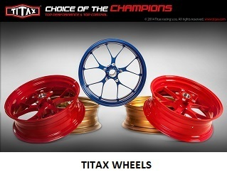 BMW HP4 TITAX FORGED WHEELS