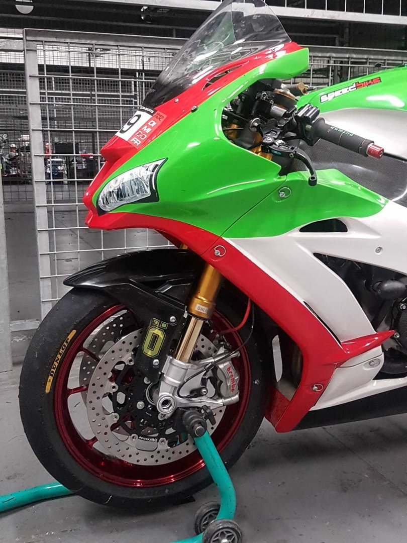 KAWASAKI ZX10 TITAX FORGED WHEELS,