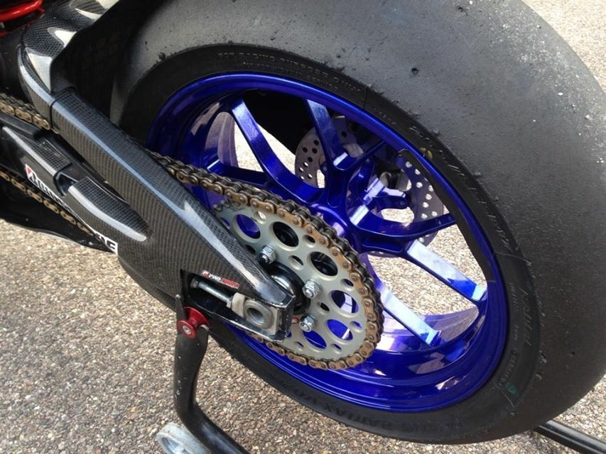 SUZUKI GSXR1000 TITAX FORGED WHEELS