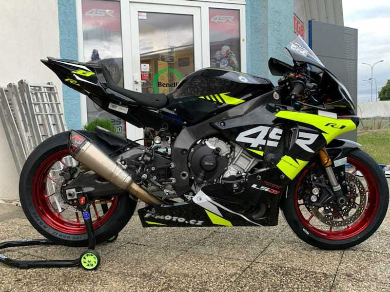 YAMAHA R1 R1M TITAX FORGED WHEELS,