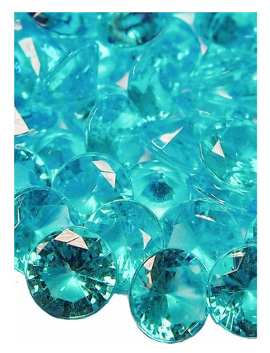 Diamond Acrylic Jewell Crystals 1cm Scatter Displays Craft Vases