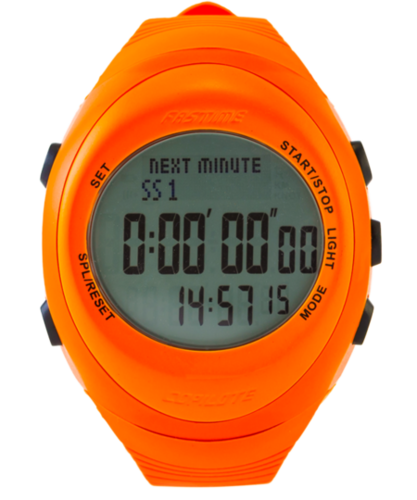 Fastime RW3 Copilote Watch - All Orange with Grey Display