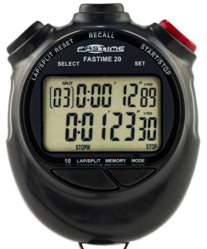 Fastime 20 Marshals/Navigators Watch/Stopwatch