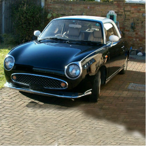 Nissan Figaro Car in Black