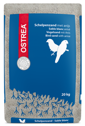Ostrea Bird Sand White with Aniseed 20kg