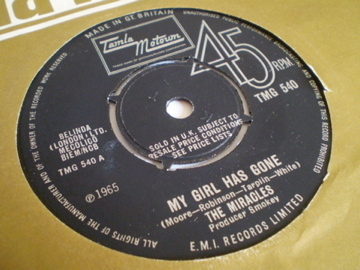 The Miracles - My Girl Has Gone