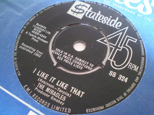 The Miracles - I Like It Like That
