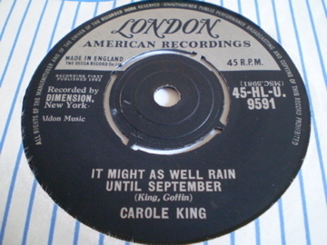 Carole King - It Might As Well Rain Until September
