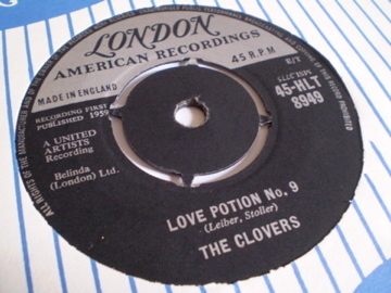 The Clovers - Love Potion No. 9