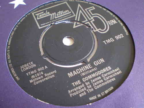 The Commodores - Machine Gun