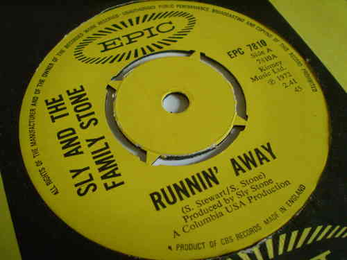 Sly & the Family Stone - Runnin' Away