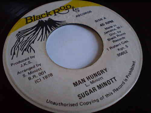 Sugar Minott - Man Hungry