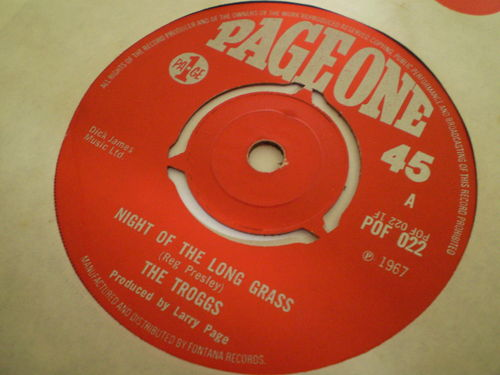 The Troggs - Night of the Long Grass