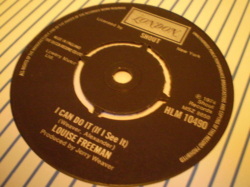 Louise Freeman - I Can Do It (If I See It)