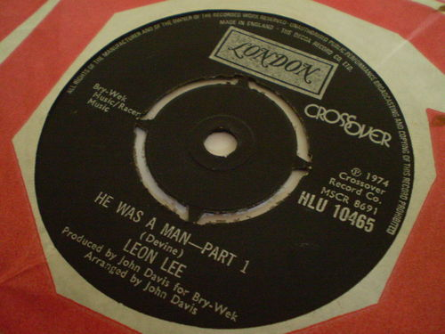 Leon Lee - He Was a Man (Part 1)