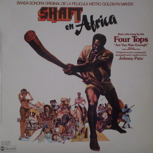 Johnny Pate - Shaft en Africa (Original Soundtrack to the Metro-Goldwyn-Mayor Film)