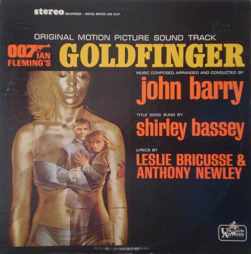 John Barry - Goldfinger (Original Motion Picture Soundtrack)