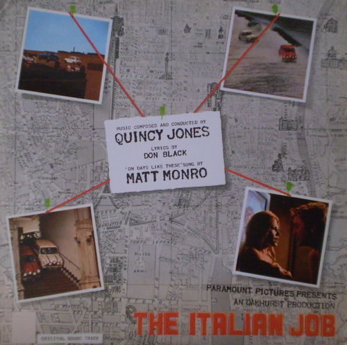 Quincy Jones - The Italian Job (Original Sound Track)