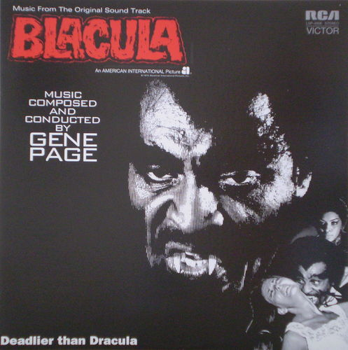 Gene Page - Blackula (Music From the Original Sound Track)
