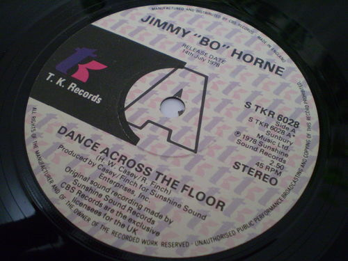 "Jimmy ""Bo"" Horne - Dance Across the Floor"
