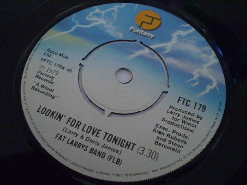 Fat Larrys Band - Lookin' For Love Tonight