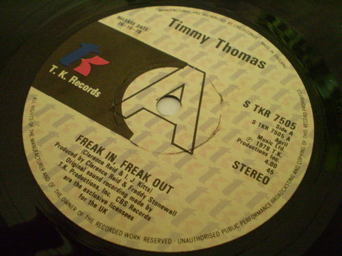 Timmy Thomas - Freak In Freak Out