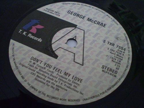 George McCrae - Don't You Feel My Love
