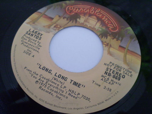 Larry Santos - Long Long Time