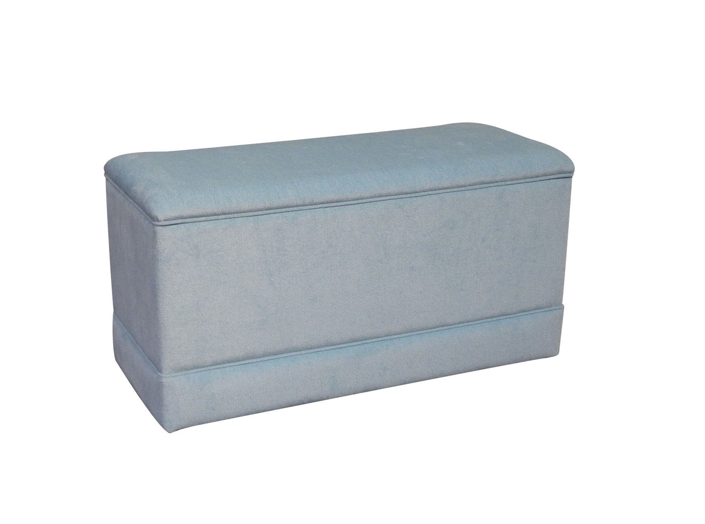 Swell Large Ottoman Storage Box Linen Storage Chest In Duck Egg Machost Co Dining Chair Design Ideas Machostcouk