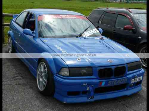 E36 Coupe/Cabrio Wide Front Wings and Wide Rear Arch Extensions