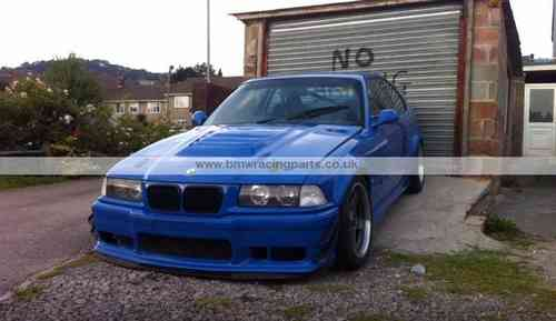 E36 Coupe/Cabrio Wide Front & Rear Arch Extensions