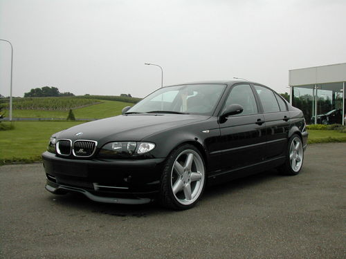 "E46 Saloon Facelift ""AC Style""  Front Spoiler & Rear Skirt"