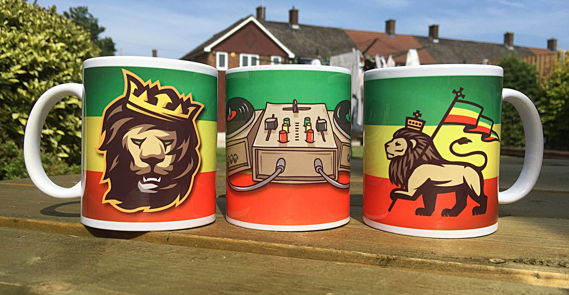 Rasta Pack Mug Set