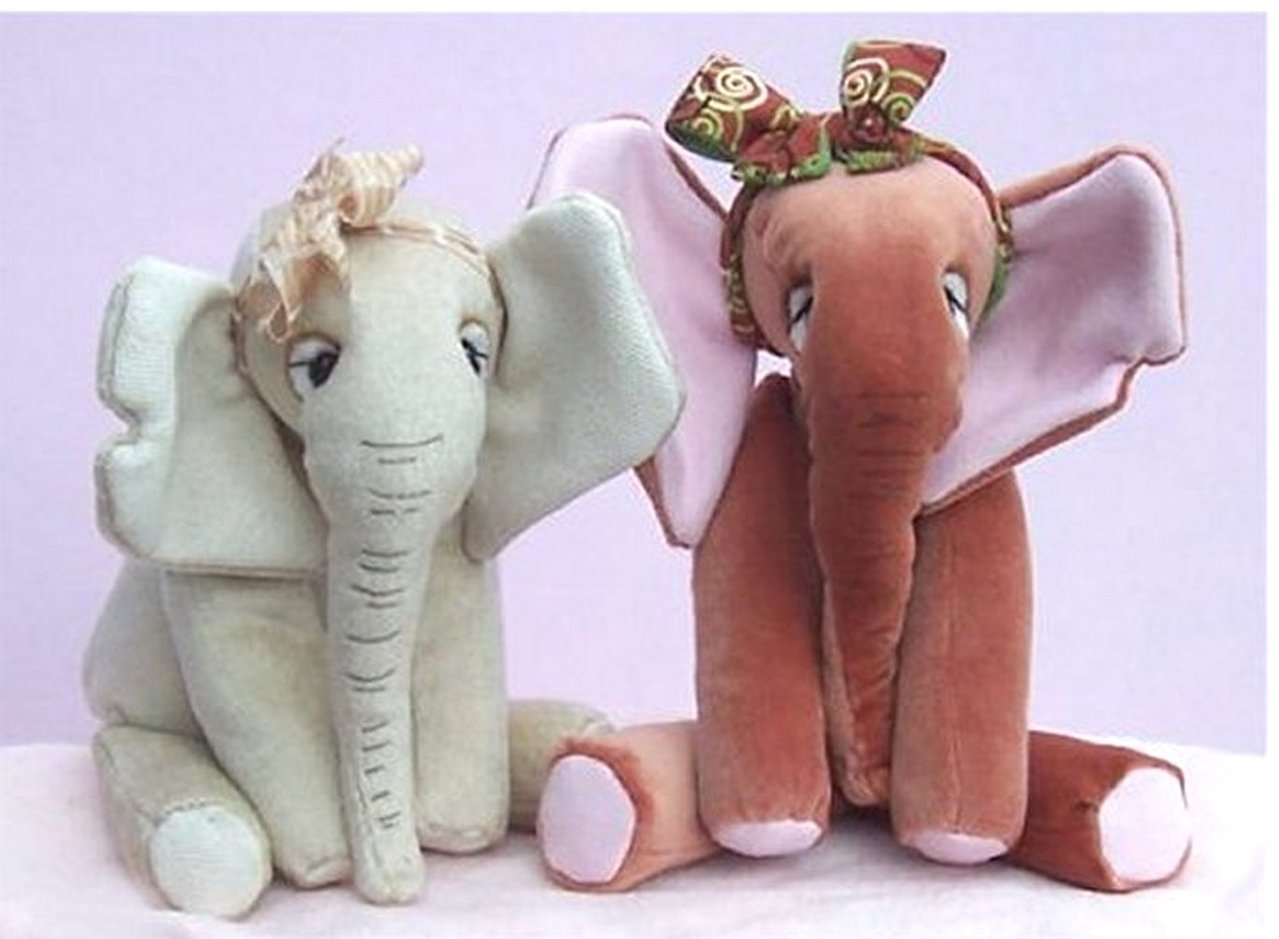 Abigail elephant digital sewing pattern