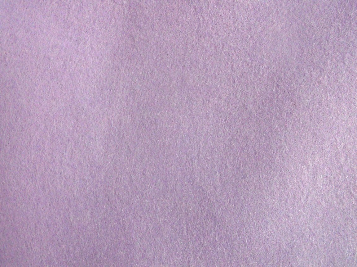 Soft quality felt - lavender (pale purple)