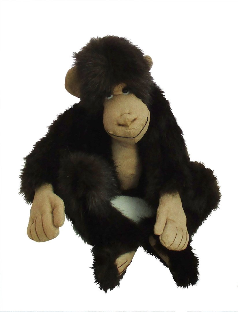 Mirtle a fun and cheeky soft toy chimp to sew