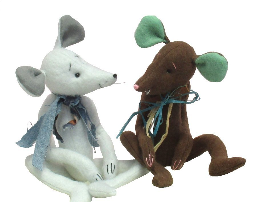Milton digital mouse or rat soft toy sewing pattern