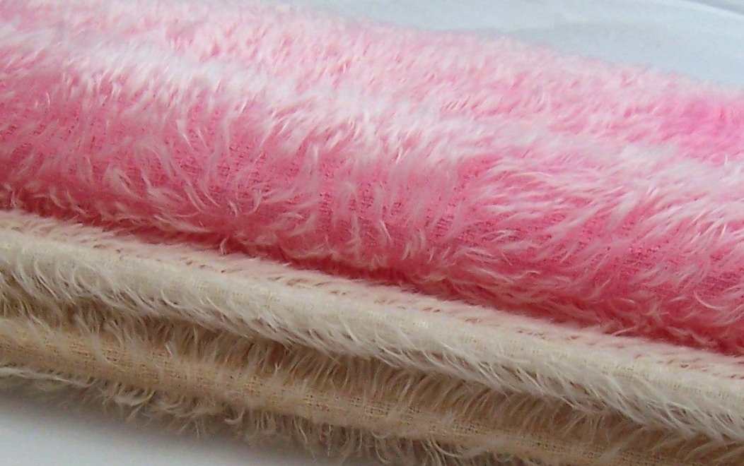 mohair and faux furs