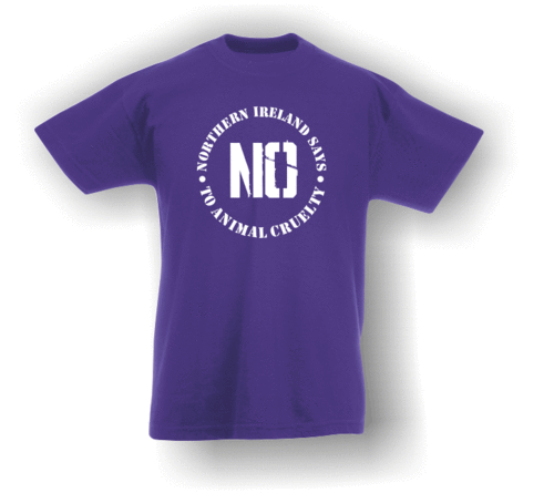 Northern Ireland Says NO To Animal Cruelty (#1) T-Shirt (Kids)
