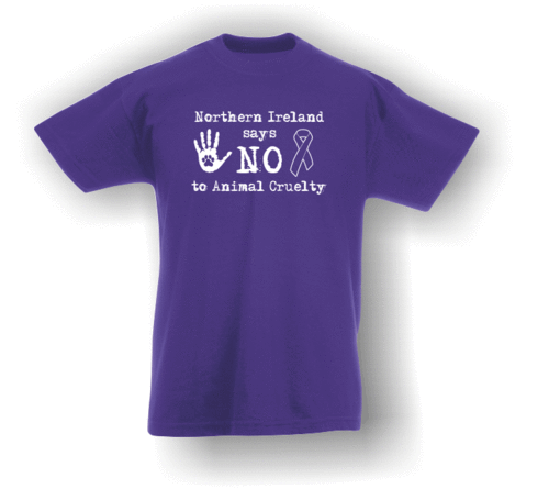 Northern Ireland Says NO To Animal Cruelty (#2) T-Shirt (Kids)