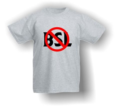End BSL Sign - T-Shirt - Kids